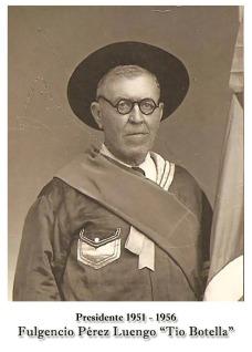 1951-1956 Fulgencio Pérez Luengo .