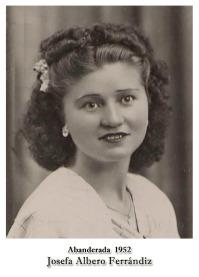 1952 Josefa Albero Ferrandiz