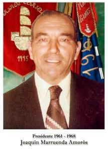 1961-1968 - Joaquin Marruenda Amoros