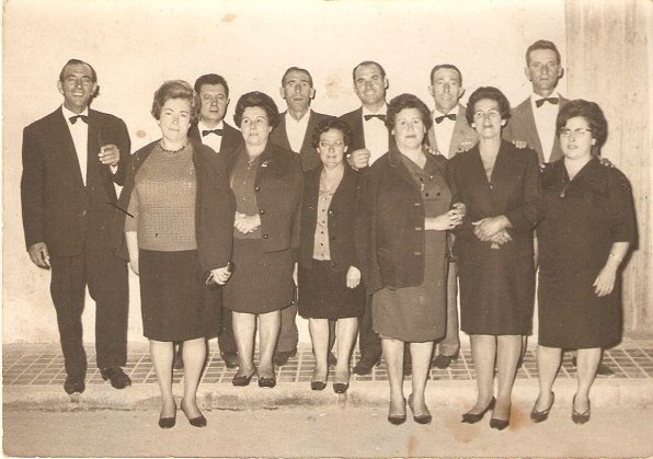 1963 Primera directiva Marinos Corsarios y esposas
