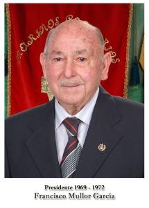 1969-1972 Francisco Mullor Garcia