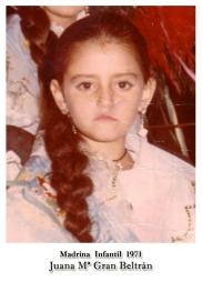1971 Infantil Juana Mª Gran Beltrán