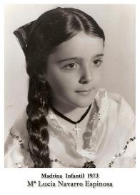 1973 Infantil Mª Lucia Navarro Espinosa
