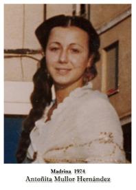 1974 Antoñita Mullor Hernandez