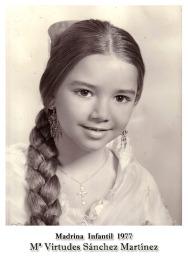 1977 Infantil Mª Virtudes Sánchez Martinez