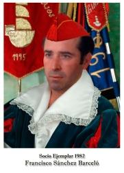 1982 - Francisco Sanchez Barcelo