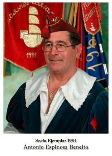 1984 - Antonio Espinosa Beneito