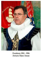 1985-1986 Arturo Saez Amat