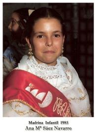 1985 Infantil Ana Mª Saez Navarro
