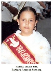 1986 Infantil Barbara Amoros Zornoza a
