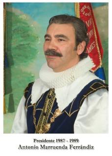 1987-1989 Antonio Marruenda Ferrandiz
