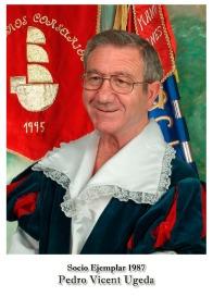 1987 - Pedro Vicent Ugeda