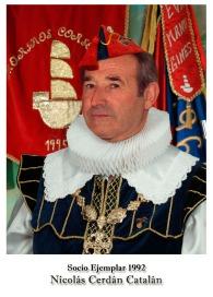 1992 - Nicolas Cerdan Catalán
