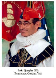 2002 Francisco Cerdan Val