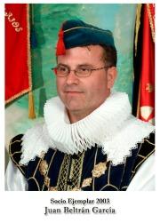 2003 Juan Beltran Garcia
