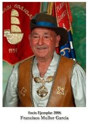 2006 Francisco Mullor Garcia