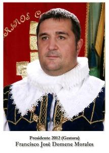 2012 Gestora Francisco José Domene Morales
