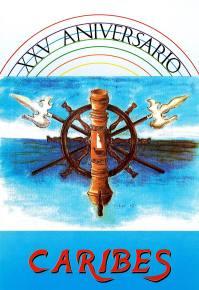 1990 - Libro 25 Aniversario Caribes - Portada