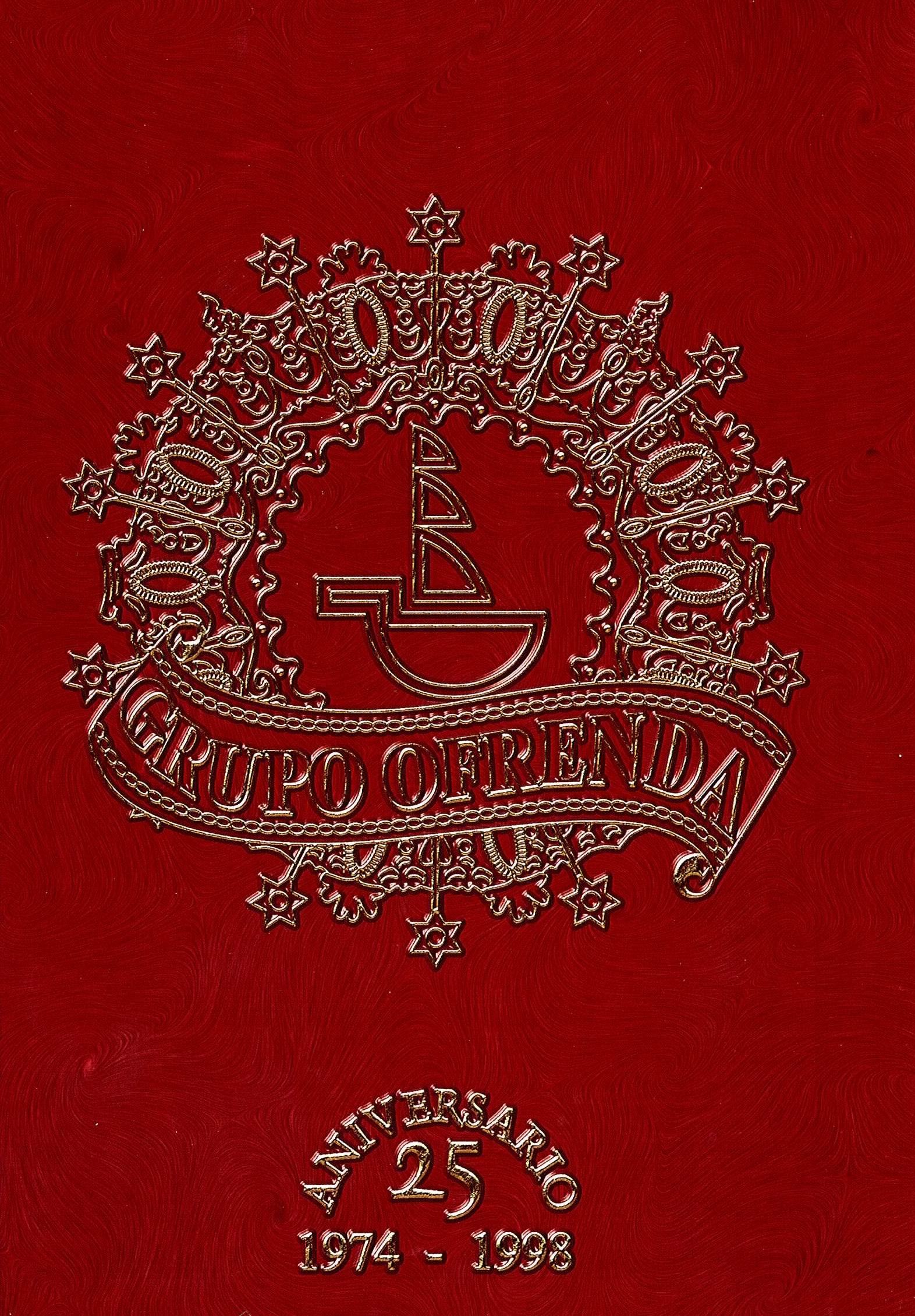 1998 - Libro 25 Aniversario Grupo Ofrenda - Portada