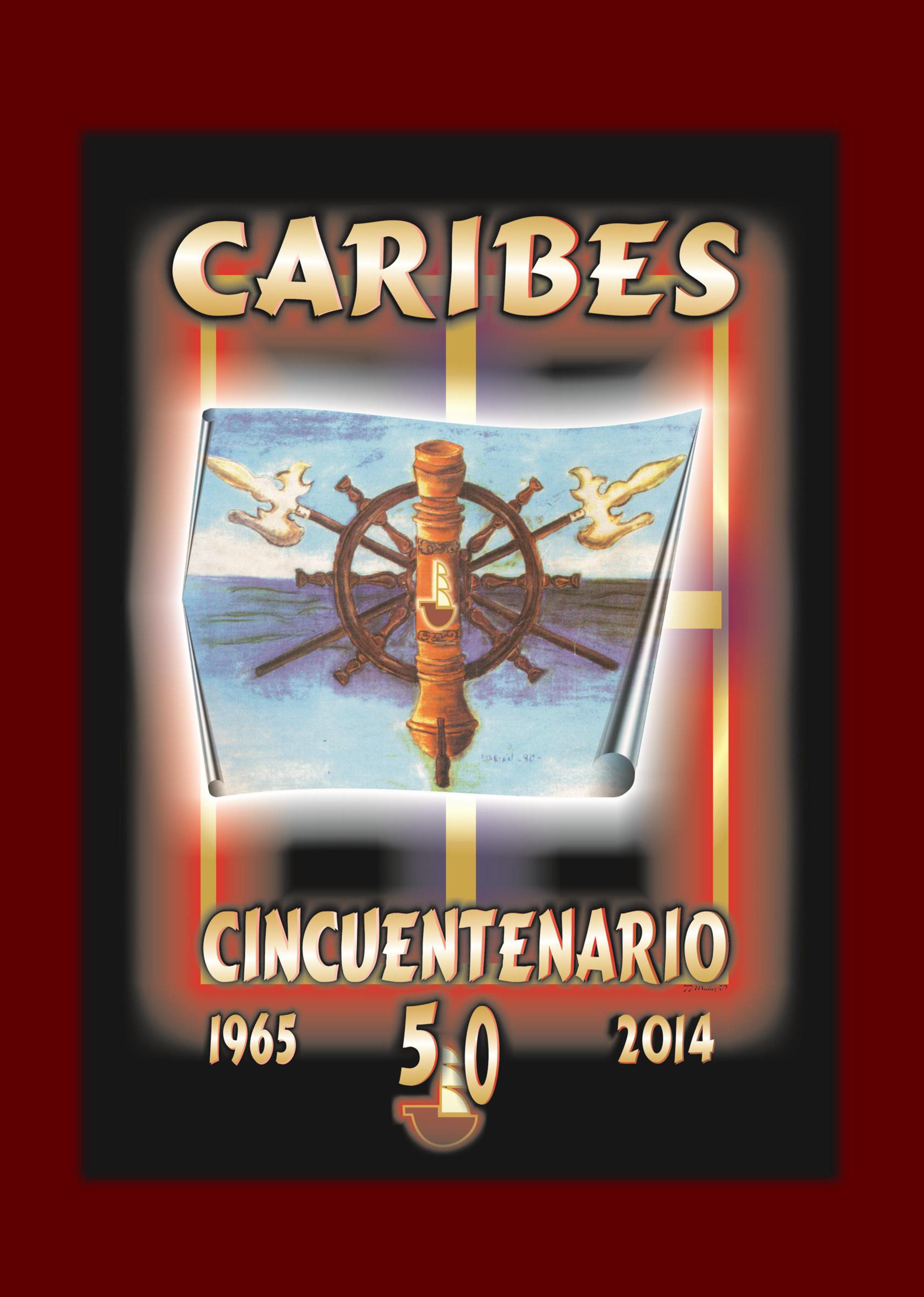 2014 - Libro 50 Aniversario Caribes - Portada